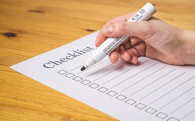 checklist-TeroVesalainen_Pixabay